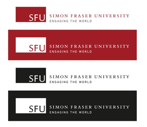 SFUu0027s Master Brand Can Be Reproduced In Full Colour Or Single Colour  Depending On The Limitations Of The Media.