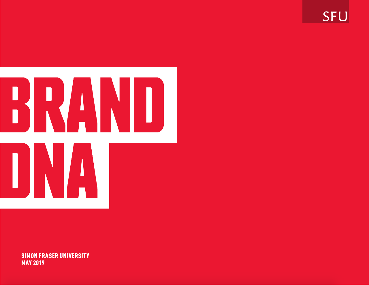 The cover of Brand DNA