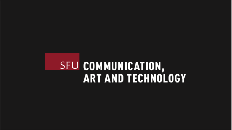 SFU informal institutional logo position with tagline on a subsequent frame