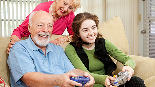 Aging Well: Can Digital Games Help