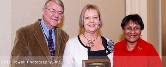 Dr. Wanda Cassidy receives the 2011 Isidore Starr Award