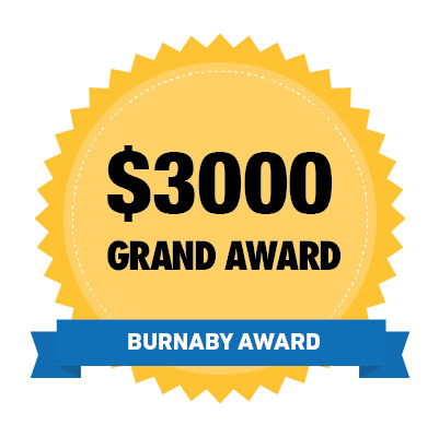 Badge: Burnaby Grand Award