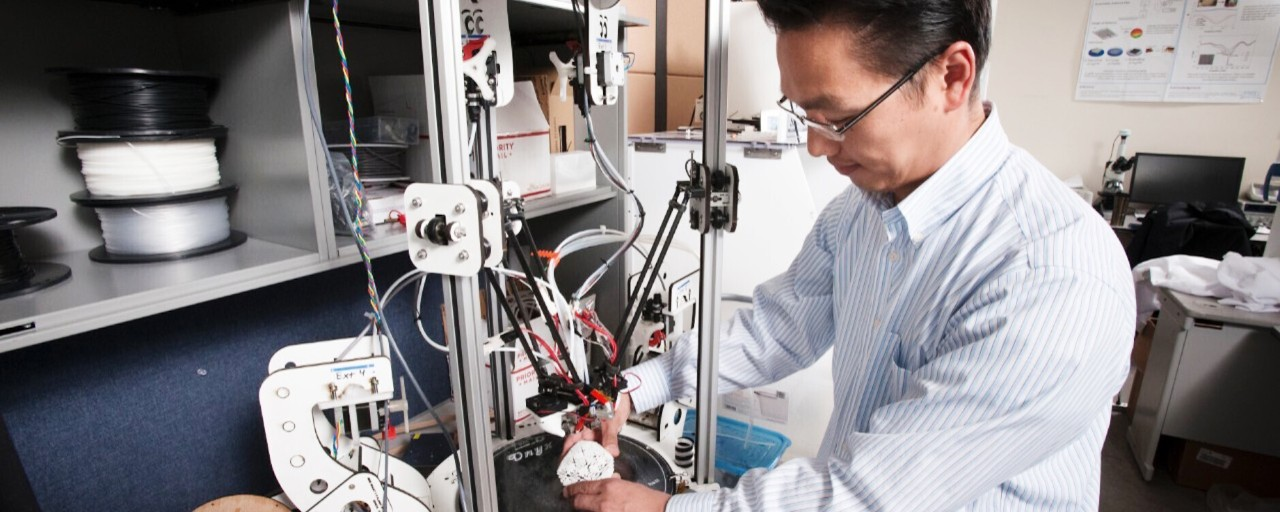SFU engineering students use 3D printing skills to develop COVID-19 supplies