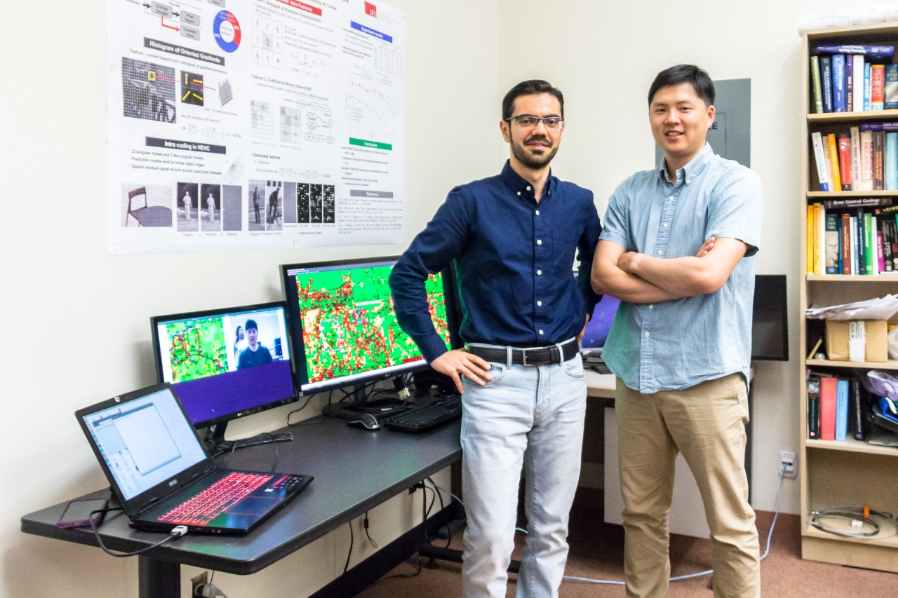 SFU engineering science students develop AI solution for video privacy