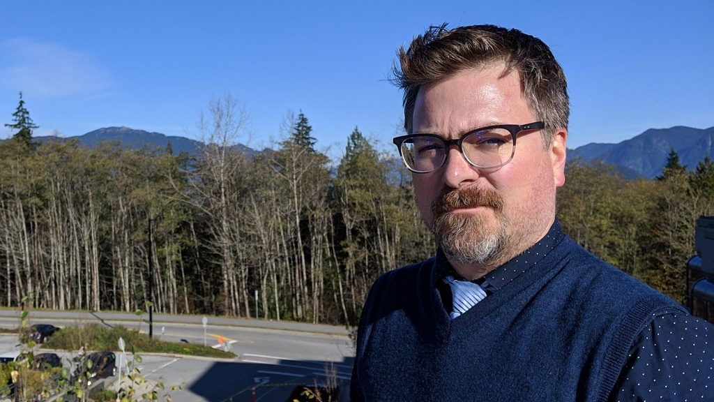 SFU Philosophy welcomes new faculty member, Bruno Guindon, a dyed-in-the-wool Montreal Canadiens fan, dog owner and parent of twin girls.
