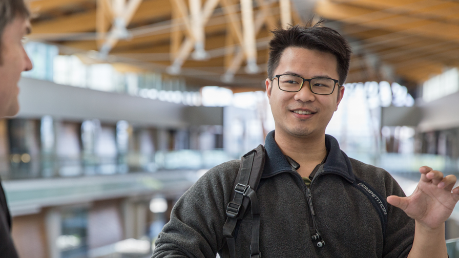 World literature and sociology graduate Ken Ip is now completing his last two terms of an MA in English—but not without already having multiple jobs under his belt.