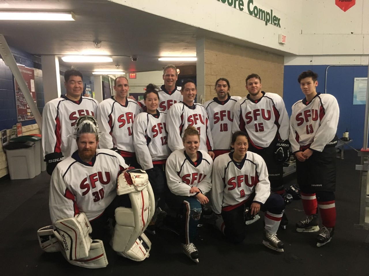 SFU Health Sciences hockey team