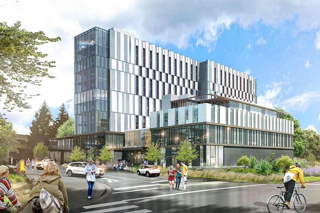 Affordable on-campus housing expands for SFU Burnaby students