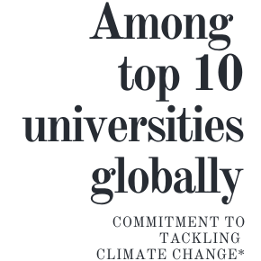SFU in top 10 universities globally for commitment to climate change