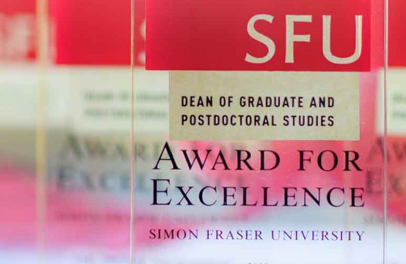 Announcing 2019 Dean of Graduate and Postdoctoral Studies Awards for Excellence Winners