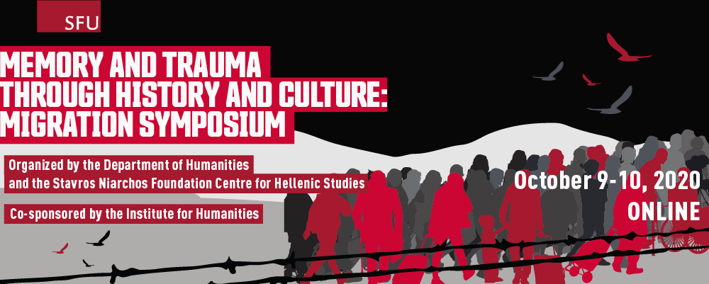 Two-day symposium on memory and trauma through the history and culture of migrations announced for October 9th and 10th