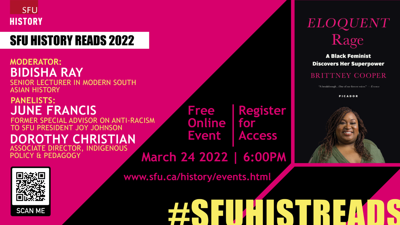 #SFUHISTREADS Event Information
