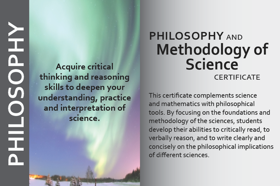marketing postcard for methodology in science certificate