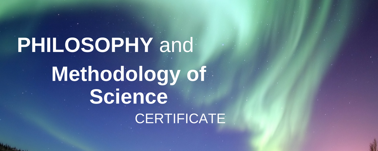 Methodology of Science Certificate