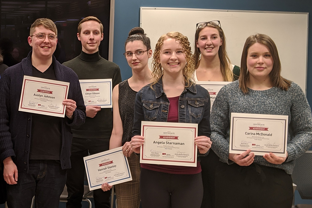 Undergrad Students Across FASS Earn Top Honours in 2019 Student Learning Commons Writing Contest