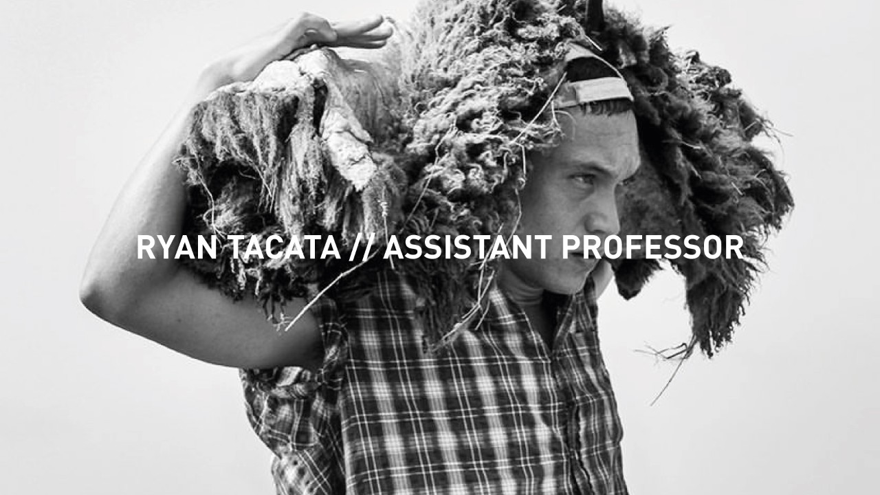 Welcome: Ryan Tacata, Assistant Professor