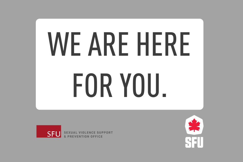 SFU Athletics Listen Believe Empower Campaign