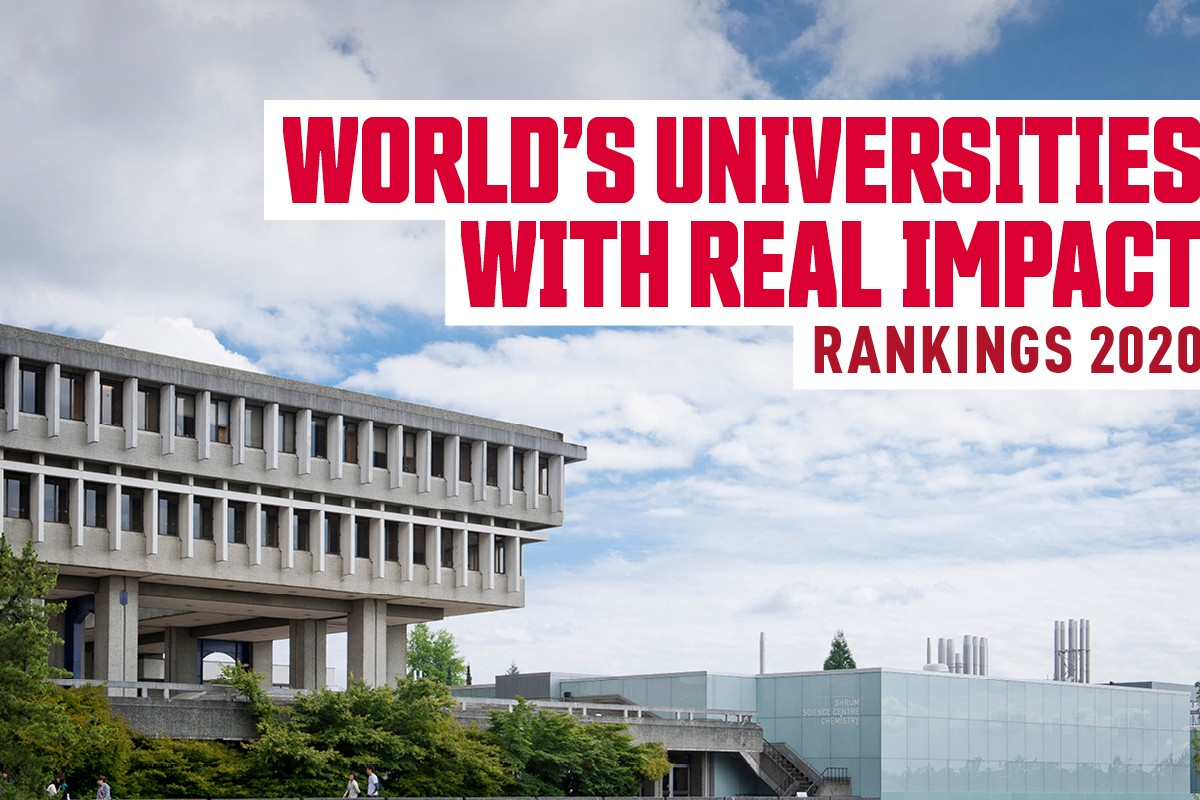 Petter's Perspective: SFU ranks in the world's top 40 for innovation and top 10 for entrepreneurial spirit