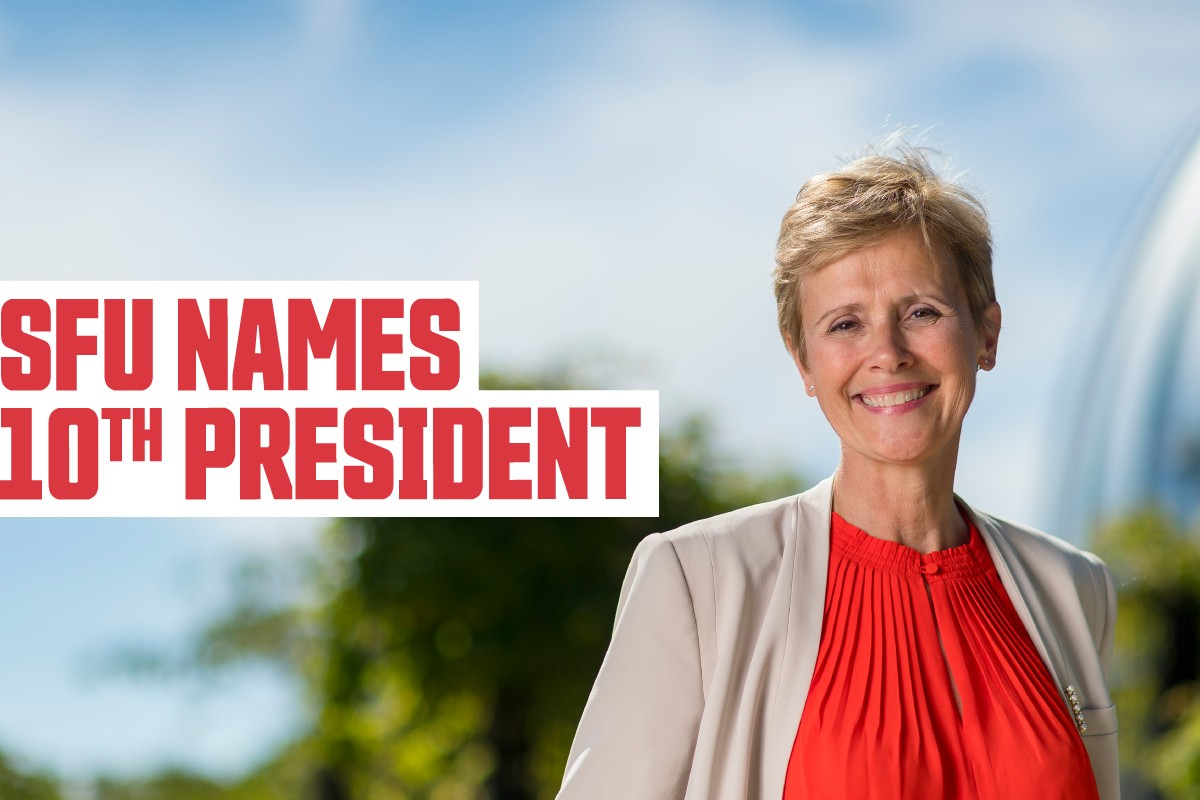 SFU names Joy Johnson as its 10th president and vice-chancellor