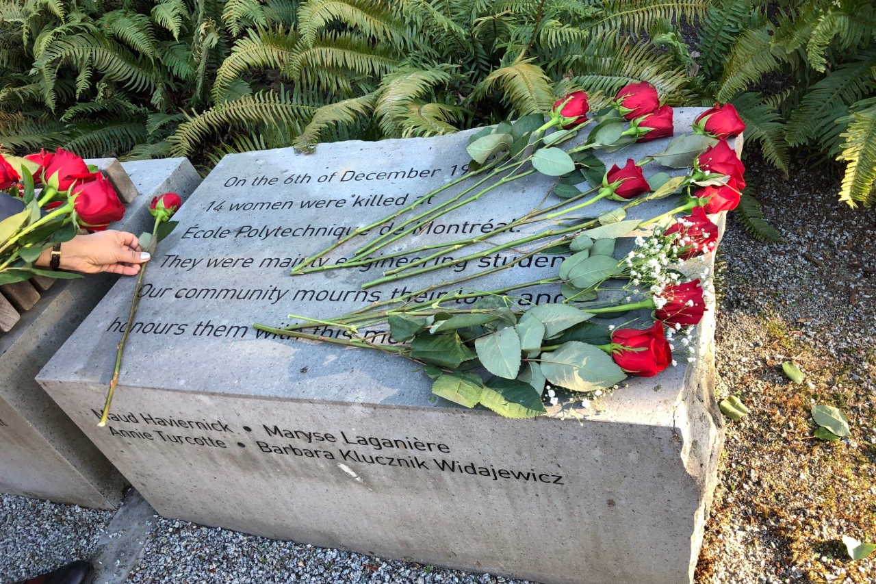 SFU reflects on the tragic events of December 6th, 1989