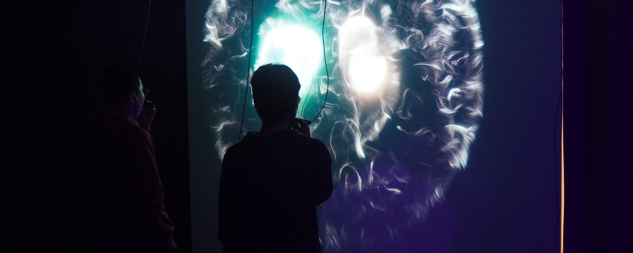 SIAT graduate student exhibits interactive art installation at the 13th Shanghai Biennale