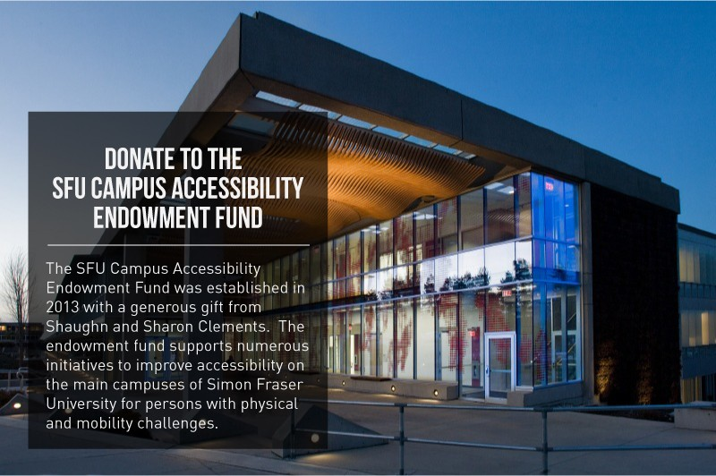 SFU Campus Accessibility Endowment Fund
