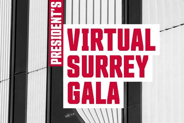 You're invited to the SFU President's Virtual Surrey Gala!