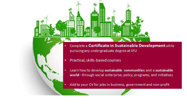 Certificate in Sustainable Development