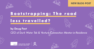 Bootstrapping: The Road Less Travelled