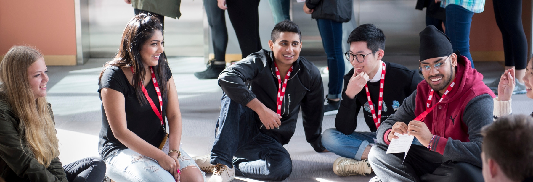 Student discussion and involvement is a key focus of the student experience initiative.