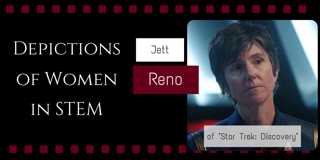 Depictions of Women in STEM: Jett Reno