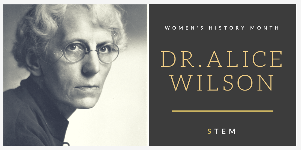 Women's History Month: Dr. Alice Wilson