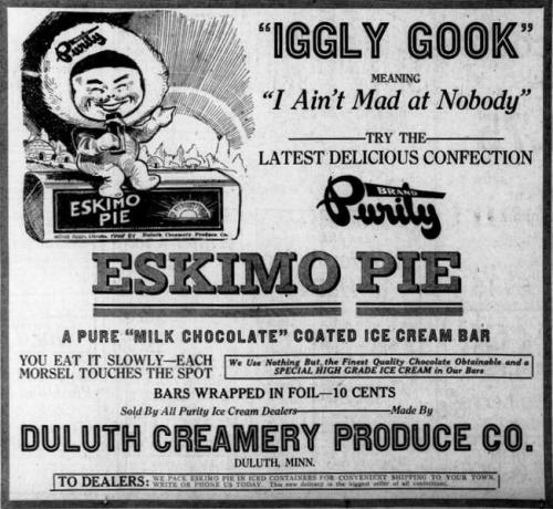 eskimo pie There are 150 calories in a 1 bar serving of nestle eskimo pie get full nutrition facts for other nestle products and all your other favorite brands.