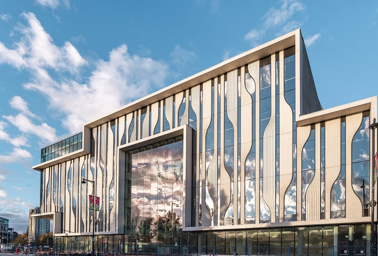SFU opens new sustainable building as first phase of Surrey campus expansion