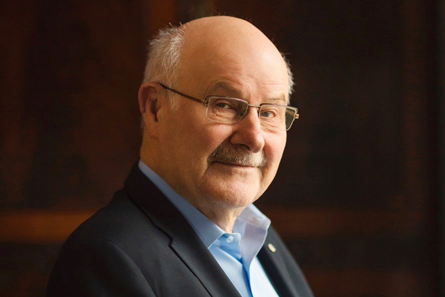 SFU recognizes Mike Harcourt with President's Distinguished Community Leadership Award