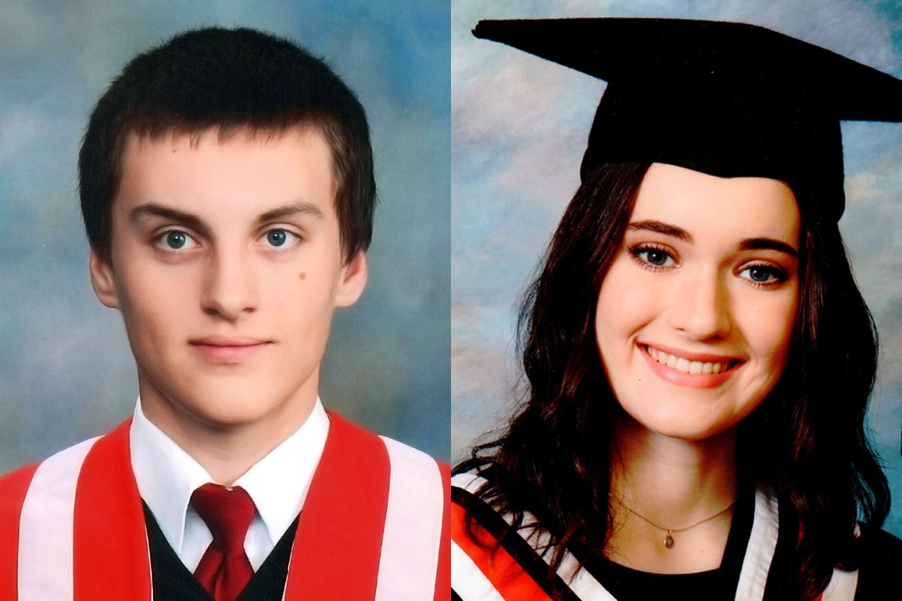 Philip Stachura and Erin Flood are SFU's Schulich Leader Scholarship recipients