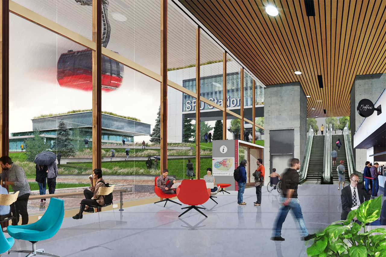 Planning for the future: a vision for SFU Burnaby in 2065