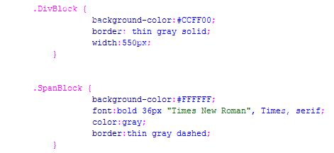 Css essential - Html div span ...